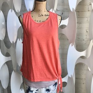 Maeve by Anthropologie top L NWT knotted bottom